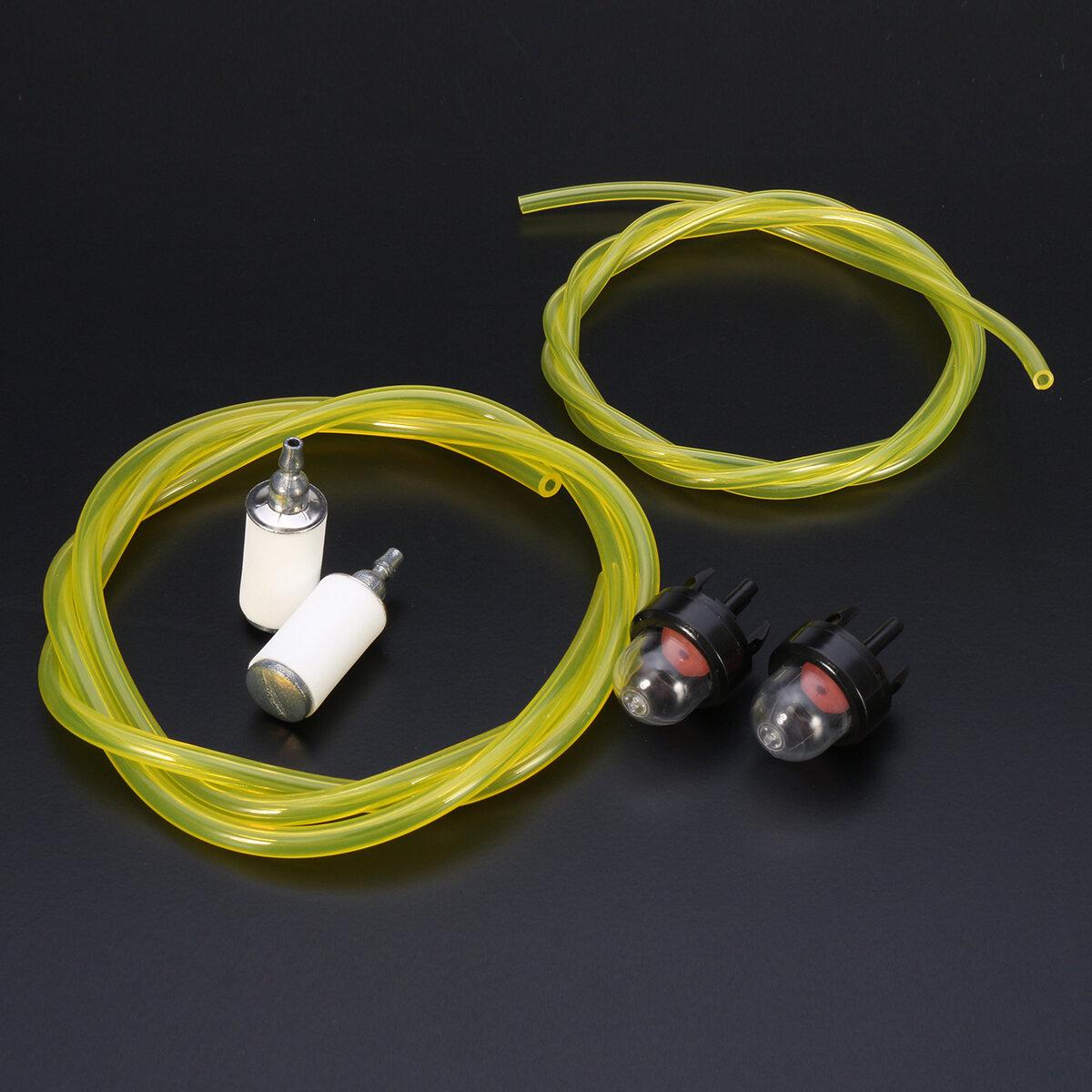 hight resolution of carburetor primer bulb 3 feet fuel gas line fuel filter for mcculloch husqvarna stihl