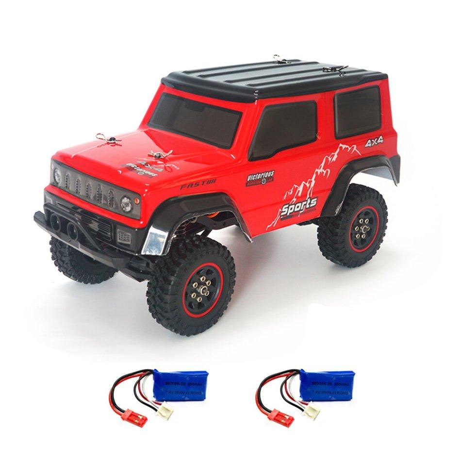 SG 1801 2.4G 3CH 1/18 Crawler RC Car Vehicle Metal Frame RTR Models Several Battery COD