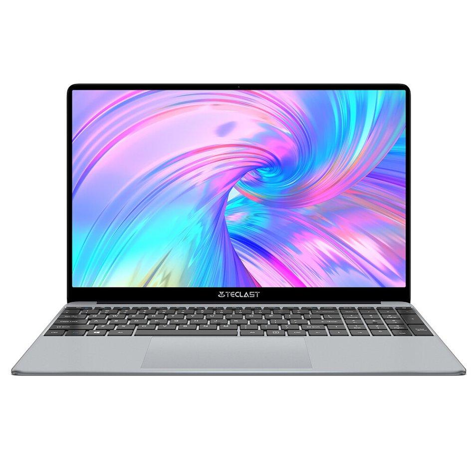 [New Version]Teclast F15 Plus Laptop 15.6 inch Intel N4120 Quad-Core 8GB LPDDR4X RAM 256GB SSD 38Wh Batery 2.0MP Camear Full Metal Cases Notebook