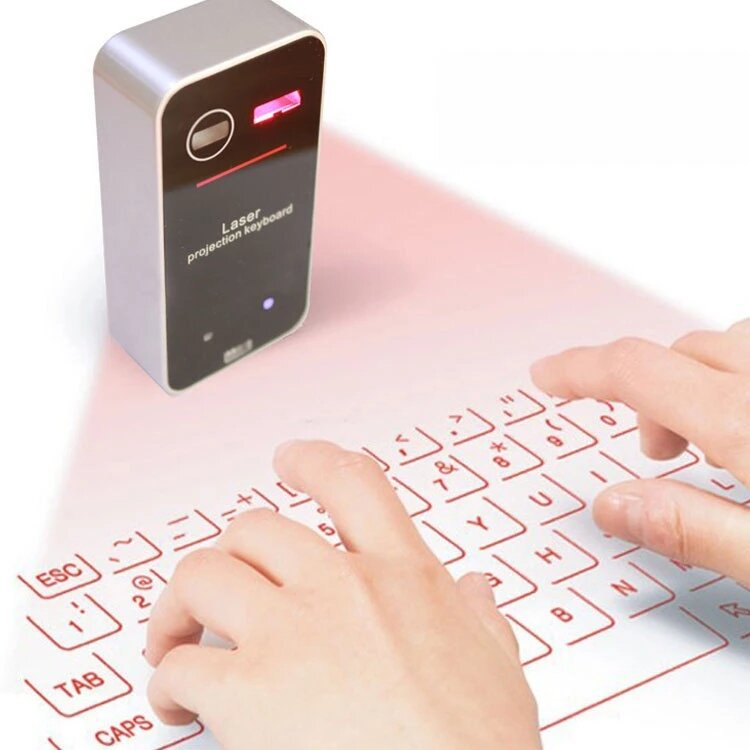 Guard Bird KB560S 700mAh English QWERTY bluetooth Wireless Laser Virtual Projection Keyboard for Smart Phone Tablet PC