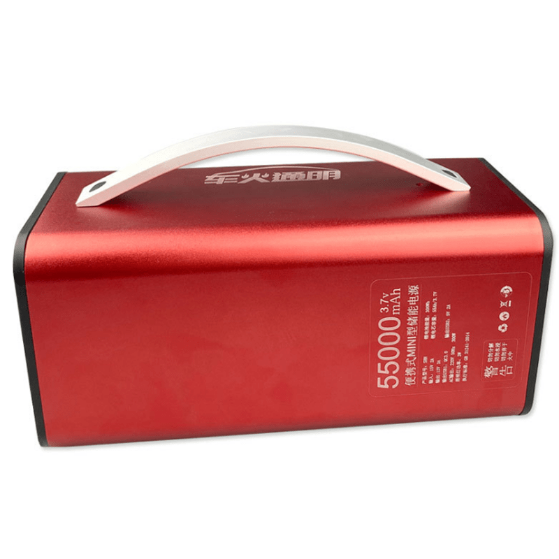 300W 220V 55000mah High Power Energy Storage Power station for RC Drones Outdoors Emergency Activities