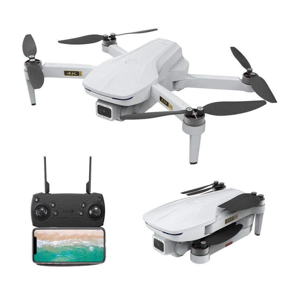 Eachine EX5 5G WIFI 1KM FPV GPS With 4K HD Camera 30mins Flight Time Optical Flow Foldable RC Drone Quadcopter RTF