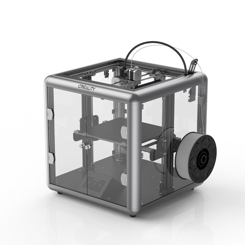 Creality 3D® Sermoon D1 All-metal Extrusion 3D Printer 280*260*310mm Print Size Silent Mainboard/Transparent Design/Smart Sensor