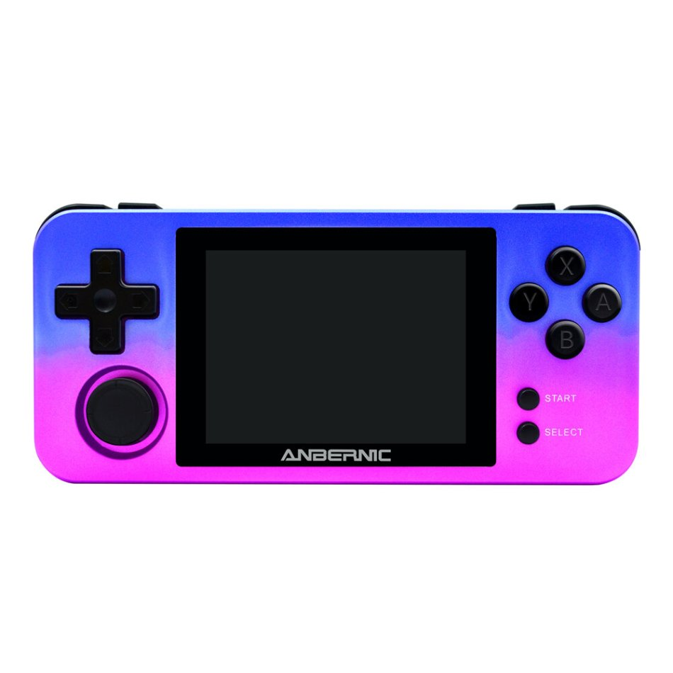 ANBERNIC RG280M DDR2 512M 16GB 2500+ Games 2.8 inch IPS HD Display Retro Handheld Video Game Console Vibration Motor Game Player Support PS1 CPS1 CPS2 CPS3 FBA NEOGEO POCKET GB SFC MD