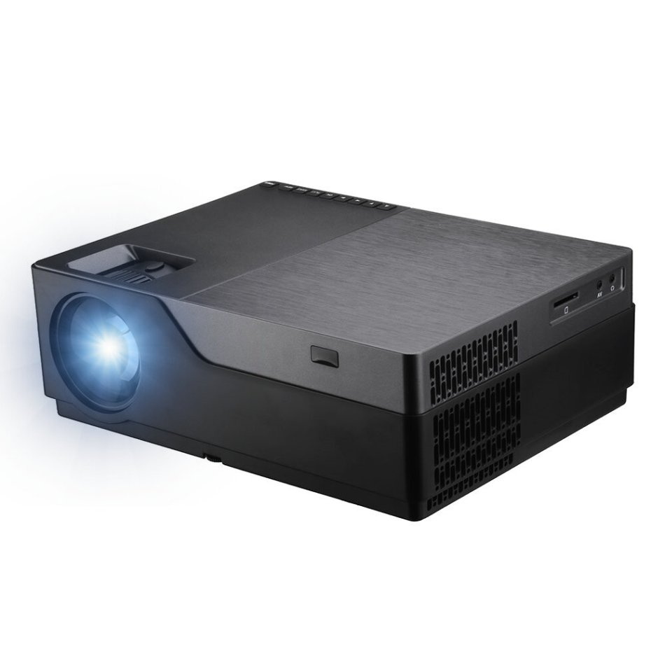 AUN M18UP Full HD Projector Android 6.0 OS 1G+8G 5500 Lumens 1920x1080 LED Projector Support 3D Home Theater Projector