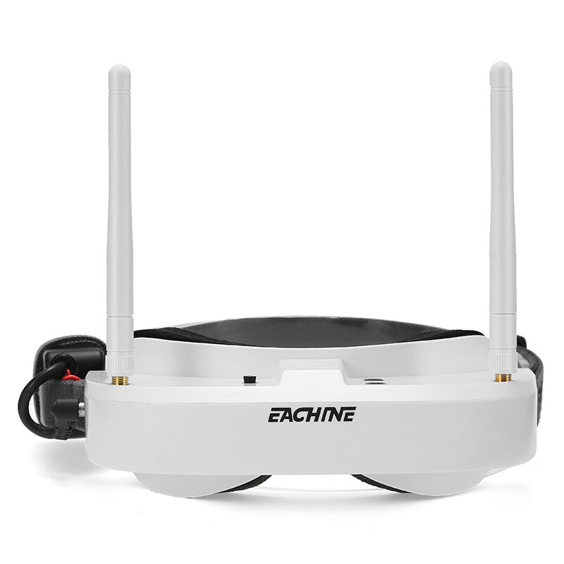 Eachine EV100 720*540 5.8G 72CH FPV Goggles With Dual Antennas Fan 7.4V 1000mAh Battery For RC Drone