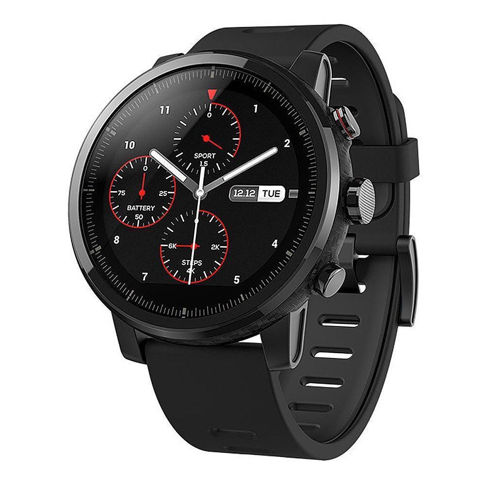 Original AMAZFIT Stratos Sports Smart Watch 2 GPS 1.34inch 2.5D Screen 5ATM Wristband International Version