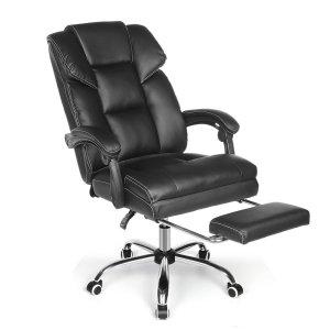 Στα € 88.33 από αποθήκη Τσεχίας | BlitzWolf BW OC1 Office Chair Ergonomic Design with 150Reclining Wide Seat Retractable Footrest PU Material Lumbar Pillow