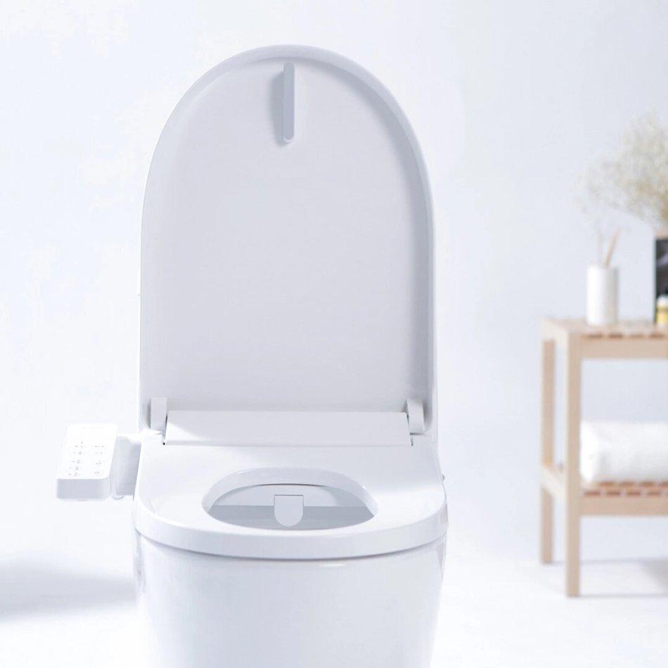 SMARTMI Multifunctional Smart Toilet Seat LED Night Light 4-grade Adjustable Water Temp Electronic Bidet From Xiaomi Youpin