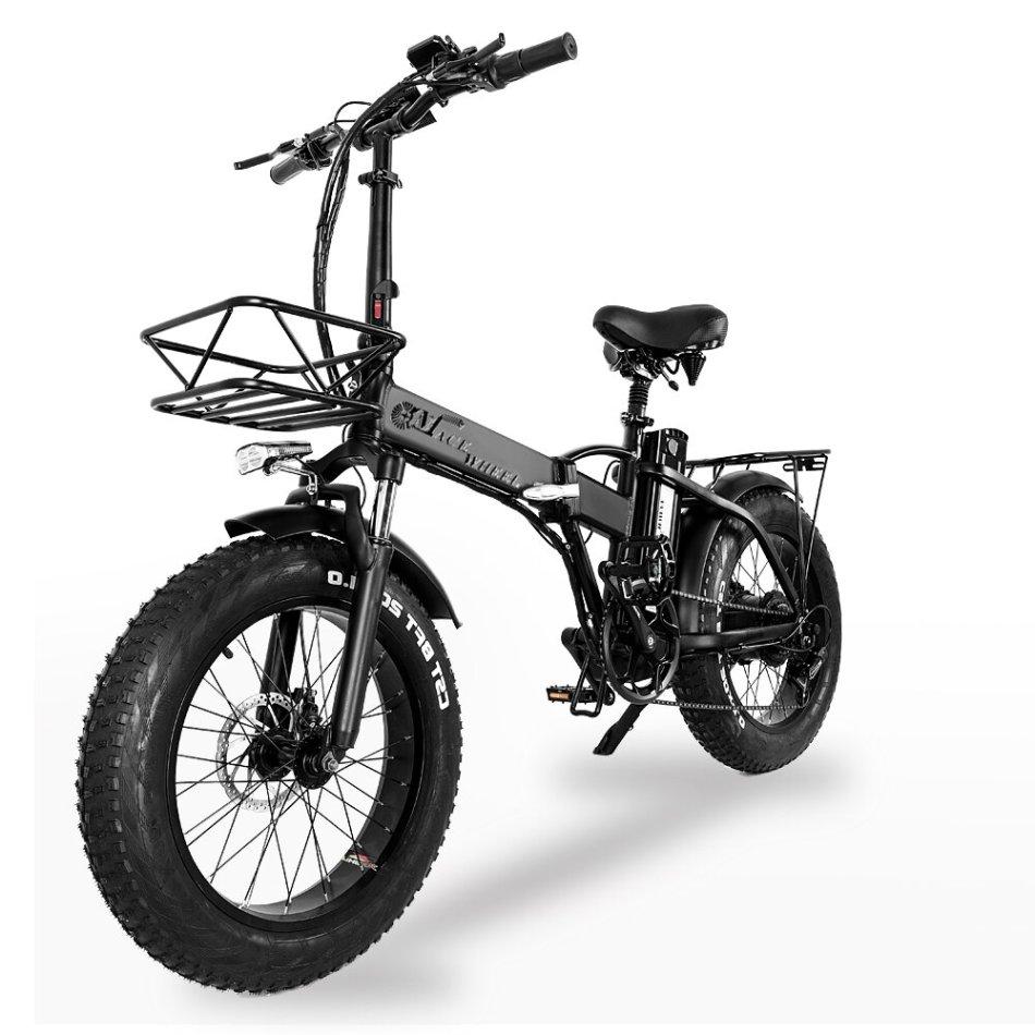 [EU Direct] CMACEWHEEL GW20 48v 15Ah 750W 20in Folding Electric Bike 30-45km/h Speed 80-100KM Mileage Disc Brake E Bike
