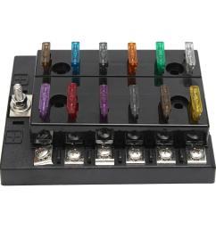 32v 12 way terminals circuit car boat atc ato breaker fuse box block32v 12 way terminals [ 1200 x 1200 Pixel ]