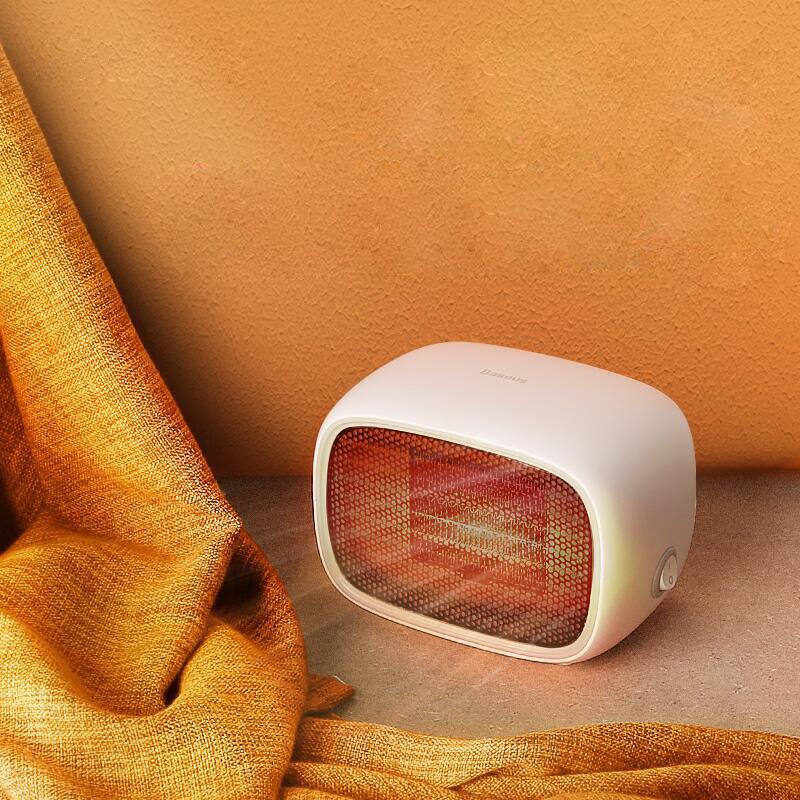 Baseus Portable Mini Electric Heater Household Heating Air Practical Desktop Radiator