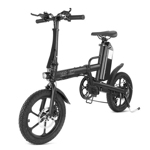 £576.5110%CMSBIKE F16-PLUS 13Ah 250W Black 16 Inches Folding Electric Bicycle 25km/h 80km Mileage Intelligent Variable Speed SystemBike & BicyclefromSports & Outdooron banggood.com