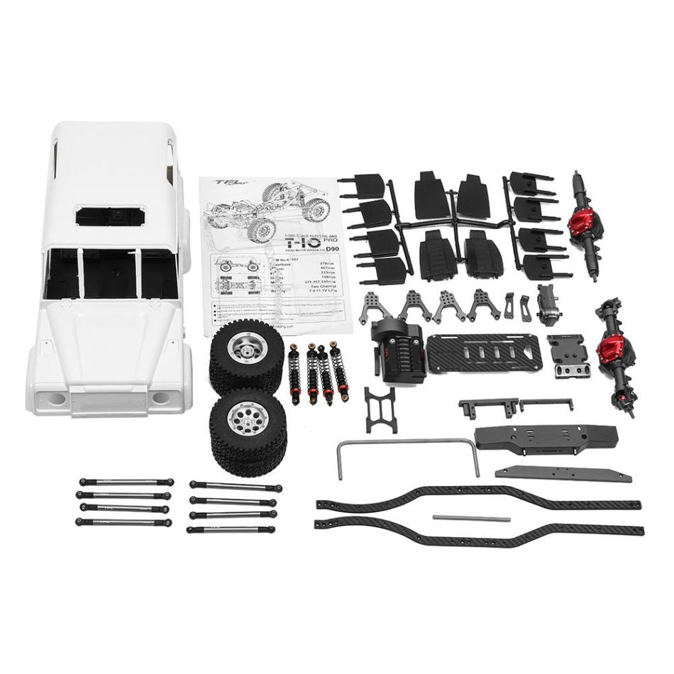 TFL C1507 Rc Car Crawler Chassis Kit Set for D90 Parts