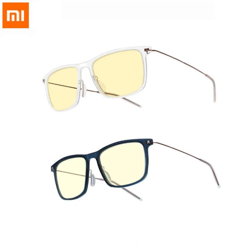 Xiaomi Mijia Anti-Blue Computer Glasses Pro 50% Blocking Rate UV Fatigue Proof Eye Protector Xiaomi Mi Home Anti Blue Ray Protective Goggles Glasses