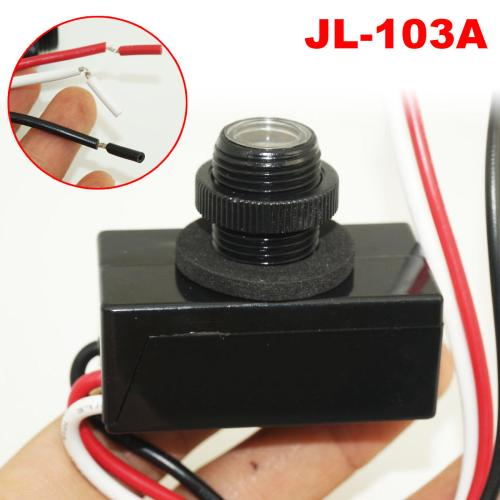 small resolution of jl 103a photocell sensor ac 120v led daylight dusk to dawn sensor photoelectric switch sensor cod