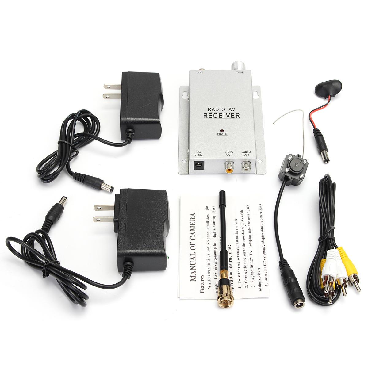 hight resolution of mini wireless security hidden camera pinhole micro cam nanny camera cod