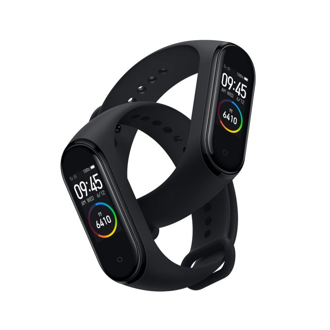 Original Xiaomi Mi band 4 AMOLED Color Screen Wristband bluetooth 5.0 5ATM Long Standby Smart Watch International Black