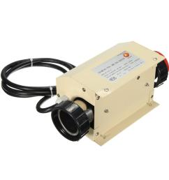 coasts 3kw 220v swimming pool spa hot tub electric water heater thermostat cod [ 1200 x 1200 Pixel ]