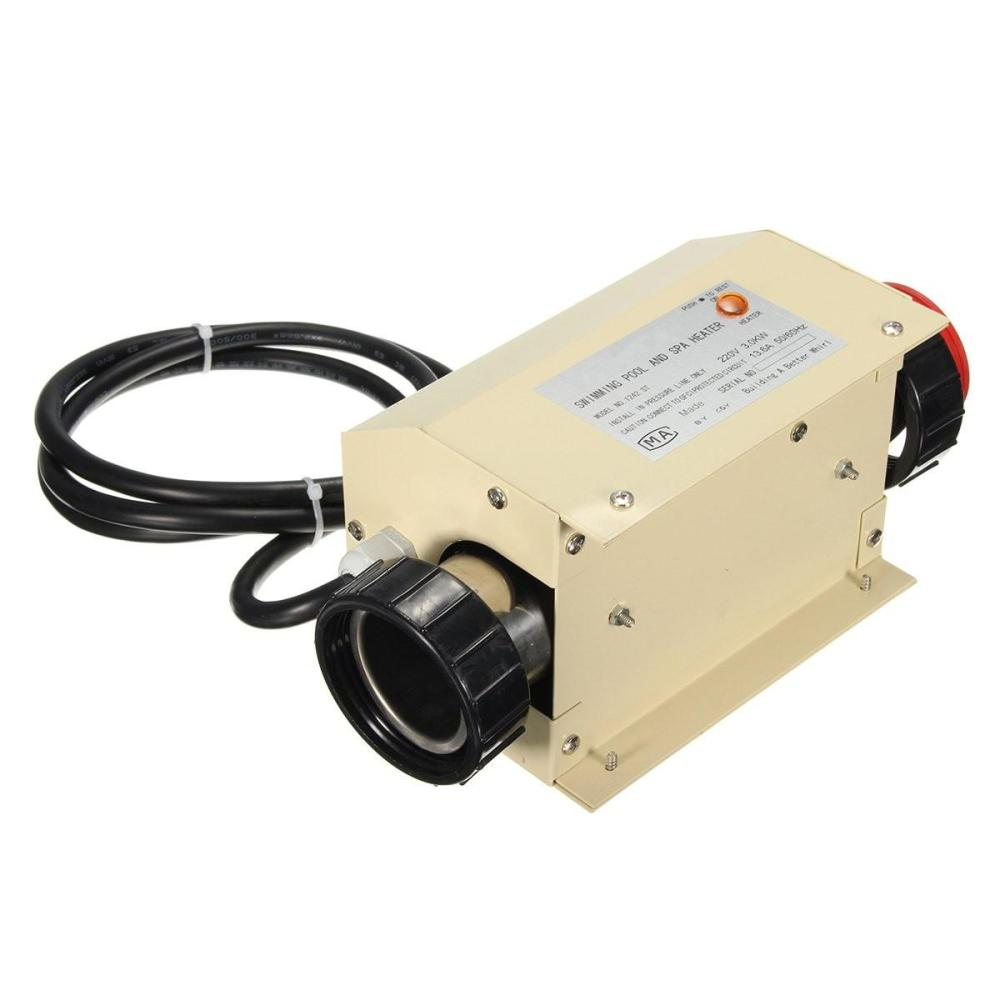 medium resolution of coasts 3kw 220v swimming pool spa hot tub electric water heater thermostat cod