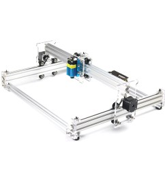 eleksmaker elekslaser a3 pro 2500mw laser engraving machine cnc laser printer sale banggood mobile [ 1200 x 1200 Pixel ]