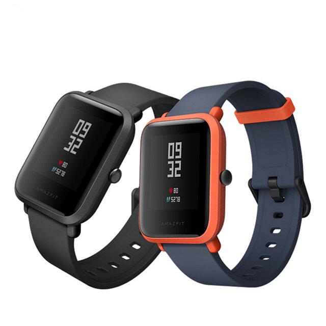 Original Xiaomi AMAZFIT Bip Pace Youth GPS bluetooth 4.0 IP68 Smart Watch International Black