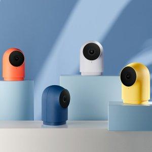 Στα €46.62 από αποθήκη Τσεχίας | HomeKit Version Aqara G2H Zigbee 3.0 Gateway + Smart IP Camera 140 1080P APP Remote Control Two way Audio Home Security Monitor