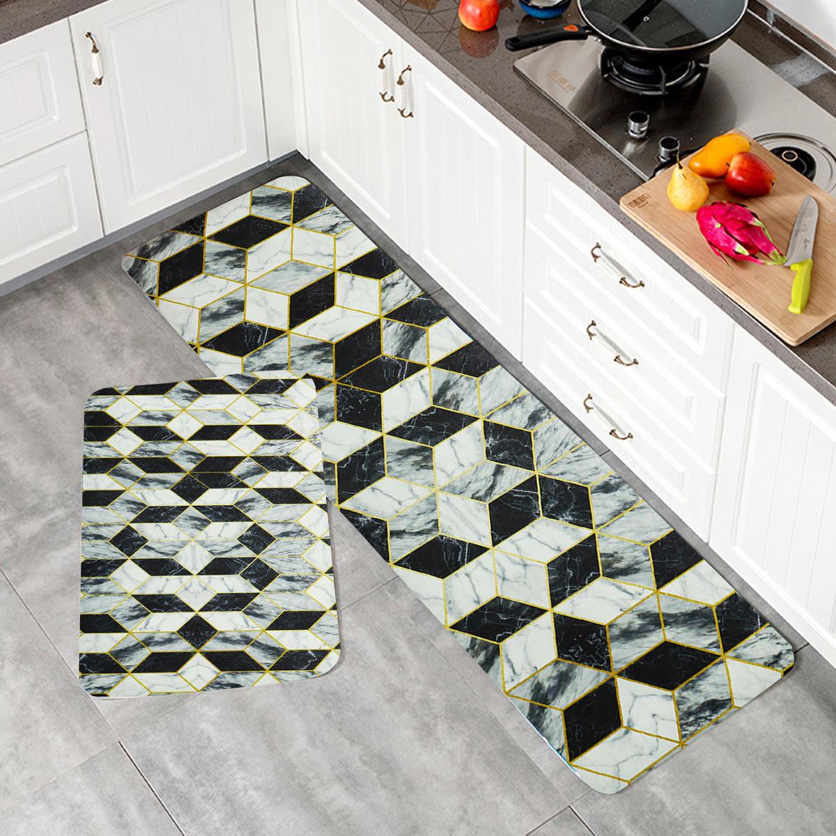 Non Slip Kitchen Floor Mat Washable Rug Home Door Bathroom Runner Carpet 75 180cm Sale Banggood Com