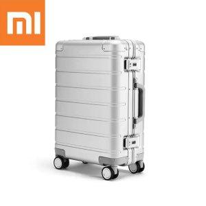 Στα 132€ από αποθήκη Τσεχίας | Original Xiaomi LXX09RM 20inch Travel Suitcase Men Women Business Trunk 31L Aluminum Alloy TSA Lock Spinner Wheel Carry On Luggage Case