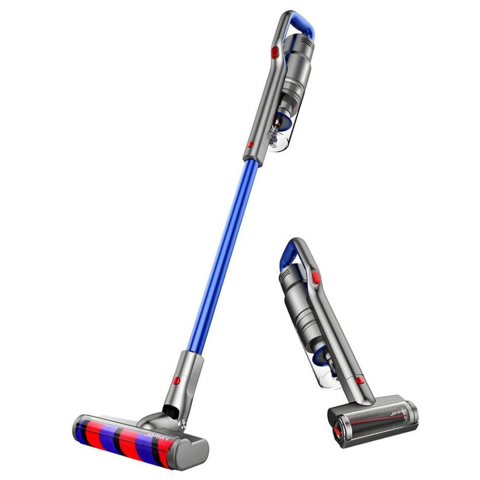 JIMMY JV63 Handheld Cordless Portable Vacuum Cleaner 130AW 20000Pa Suction Anti-winding Hair 60 Minutes Run Time Carpet Dust Collector