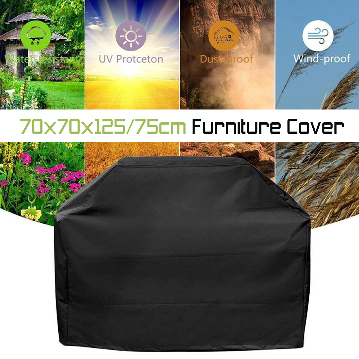 Waterproof High Back Chair Covers Furniture Protection Cover Outdoor Patio Garden Sale Banggood Com Arrival Notice