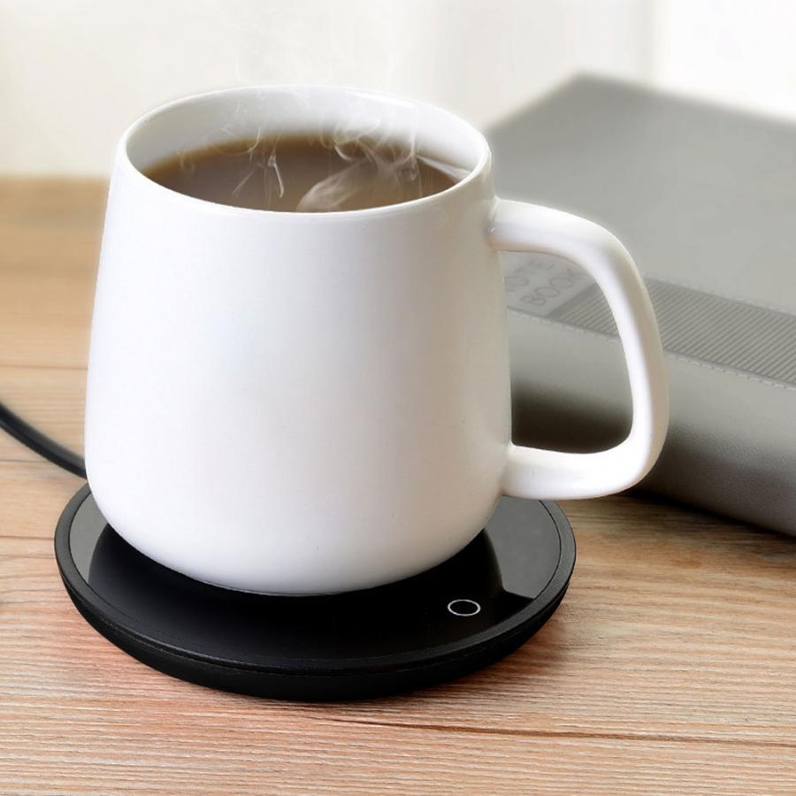 Loskii A10 Touch Sensor 15w Cup Heating Mat Electric Tea Warmer Two Gear Temperature Adjustable