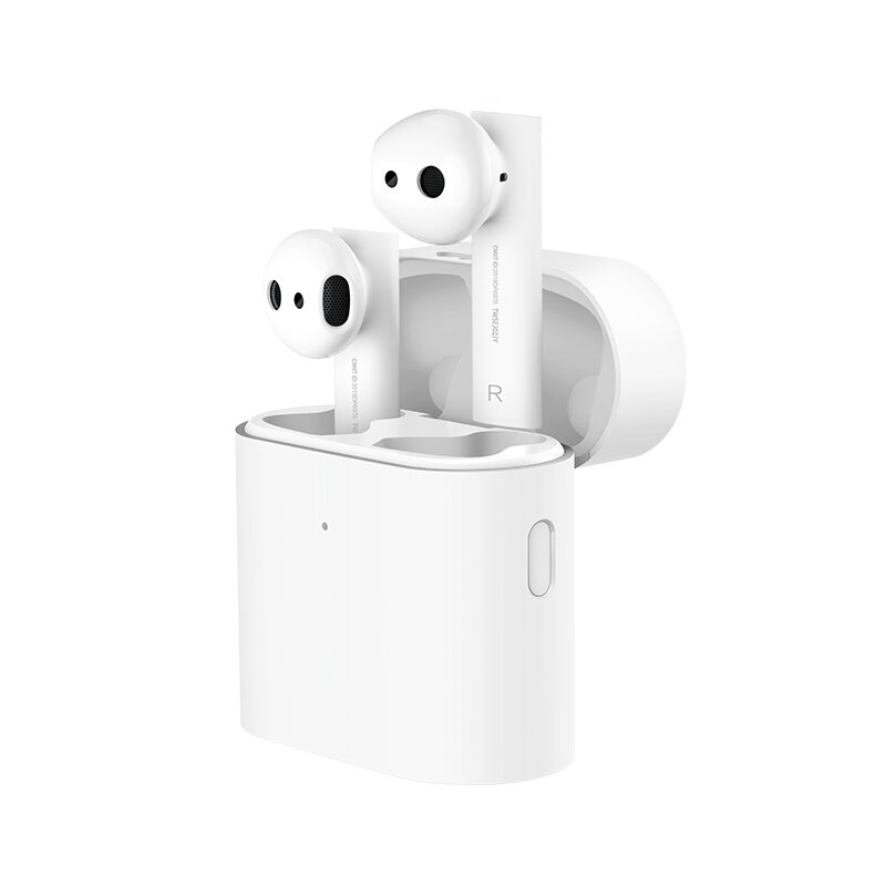 Original Xiaomi Air 2 Earphone TWS Wireless bluetooth 5.0 Earbuds LHDC Stereo ENC Noise Cancelling Headphone with Charging Box