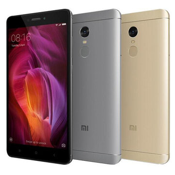 Xiaomi Redmi Note 4 Global Edition 5.5-inch 3GB RAM 32GB ROM Snapdragon 625 Octa-core 4G Smartphone