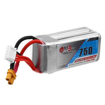 Gaoneng GNB 14.8V 750mAh 80C 4S XT30 Plug Lipo Battery