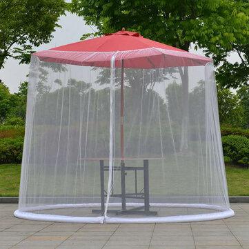outdoor umbrella table screen enclosure mosquito net patio picnic net cover sunshade anti mosquito nets
