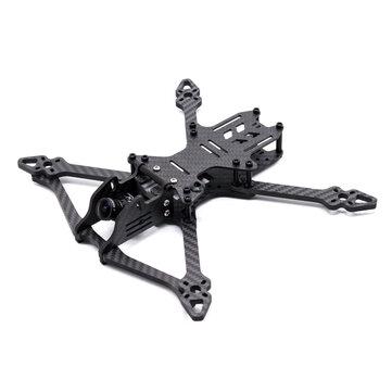 Talystmachine 234/264/294mm Wheelbase 5/6/7 Inch 5mm Arm Carbon Fiber Frame Kit compatible DJI FPV Air Unit 20*20/30.5*30.5mm