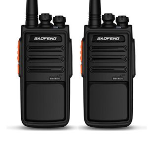Αποθήκη Κίνας | BAOFENG 888S Plus 5W 3800mAh Walkie Talkies Lightning Version High Power UV Dual Band 16 Channel Two Way Radio USB Rechargeable for Climbing Hiking Civil Hotel