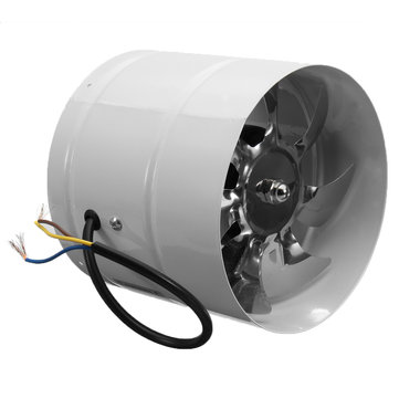 inline duct booster exhaust fan ventilator ventilation hydroponic vent air 6