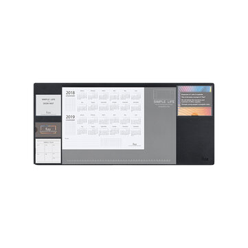 XIAOMI Fizz Multifunctional Office Table Mat Weekly Planner
