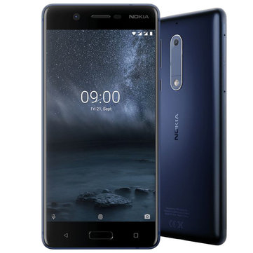 £82.49NOKIA 5 Global Version 5.2 inch Fingerprint Android 9 2GB 16GB Snapdragon 430 Octa Core 4G SmartphoneSmartphonesfromMobile Phones & Accessorieson banggood.com