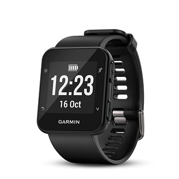 Garmin Forerunner 35 Watch GPS Heart Rate Monitoring Smart Connectivity Vibration Alerts Black