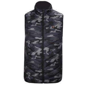 Αποθήκη Τσεχίας μέχρι και 2XL   40-60℃ Electric Heated Waistcoat 5 Zone Heating Jacket USB Warm Up Cloth Winter Body Warmer
