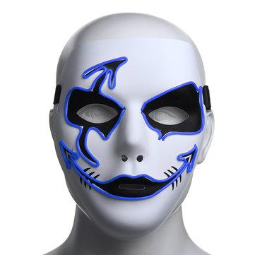 halloween mask led luminous