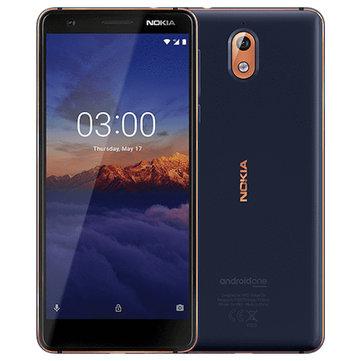 £78.62NOKIA 3.1 Global Version 5.2 inch 3GB RAM 32GB ROM MTK MT6750N Octa core 4G SmartphoneSmartphonesfromMobile Phones & Accessorieson banggood.com