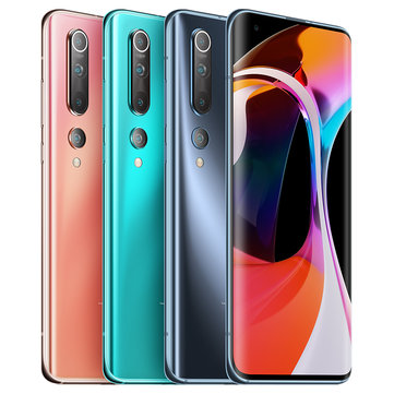 Xiaomi Mi 10 5G CN Version 108MP Quad Cameras 8K Video Recording 8GB 256GB 6.67 inch 90Hz Fluid AMOLED Display 4780mAh 30W Fast Charge Wireless Charge WiFi 6 NFC Snapdragon 865 Octa core 5G Smartphone Smartphones from Mobile Phones & Accessories on banggood.com