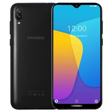 DOOGEE X90 6.1 inch HD Waterdrop Display Face Unlocking Android 8.1 3400mAh 1GB RAM 16GB ROM MT6580A Quad Core 3G Smartphone