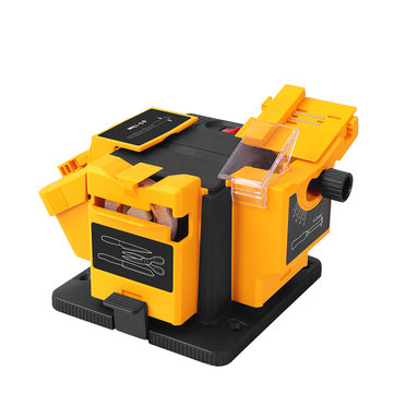 HILDA 96W 230V Multifunctional Sharpener Grinding Sharpener with Wheel for Scissors Planer Drill