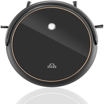 IMASS A3 Robot Vacuum Cleaner with Smart Path Planning 1400pa Suction Ultra-Thin Body for Pet Hair Care, Hard Floors and Low Pile Carpet