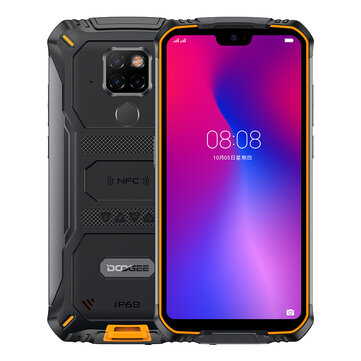 DOOGEE S68 Pro Global Version 5.9 inch FHD+ IP68 Waterproof 6300mAh NFC 6GB 128GB Helio P70 4G Smartphone Mobile Phones from Phones & Telecommunications on banggood.com